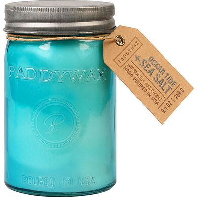 Large Paddywax Ocean Tide Jar Candle