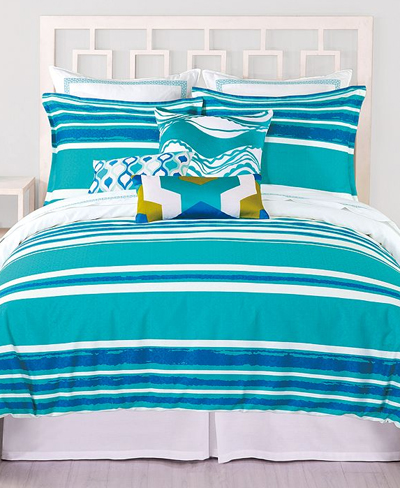 Trina Turk Horizon Stripe Comforter and Duvet Sets
