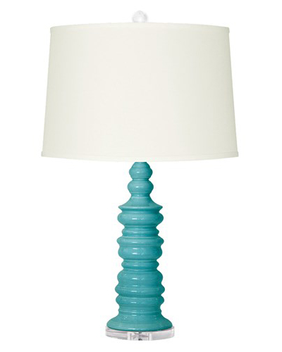 Bungalow 5 Aurora Turquoise Table Lamp