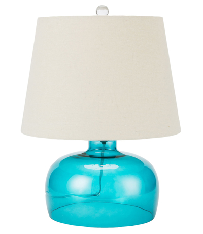 Glass Bell Accent Lamp