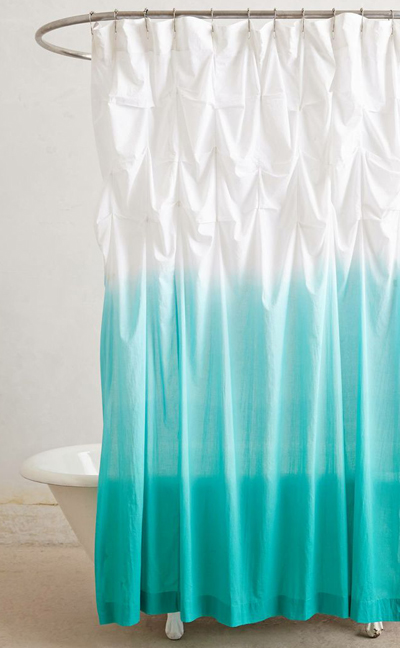 Ocean Upward Shower Curtain Everything Turquoise