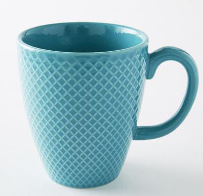 Teal Textured Mug