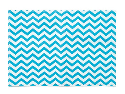 Cotton Chevron Placemat Set