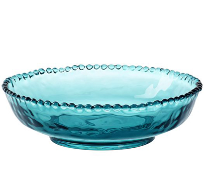Beaded Outdoor Serve Bowls