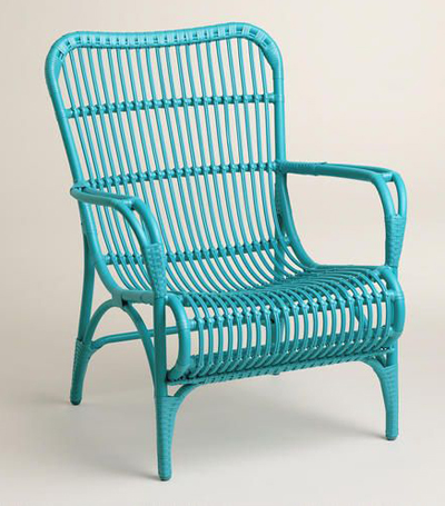Blue Hanalei Occasional Chairs - Set of 2