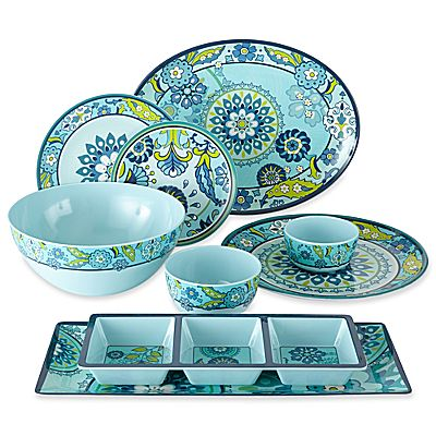 Capri Melamine Dinnerware Collection