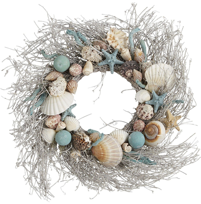 Coastal Shells Wreath