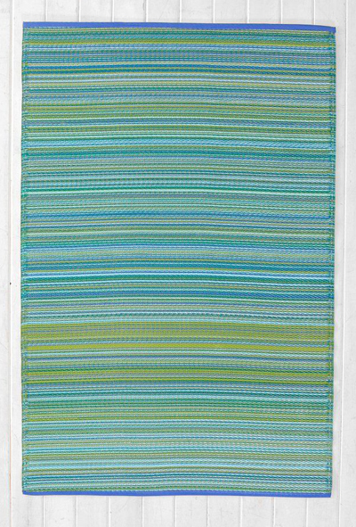 Striped Indoor/Outdoor Rug