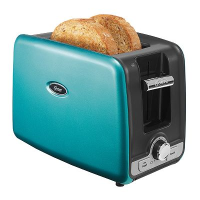 Kitchen Aide Toaster Oven Turquoise Oster 2-Slice Toaster with Retractable Cord ...