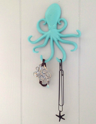 Cast Iron Octopus Hook