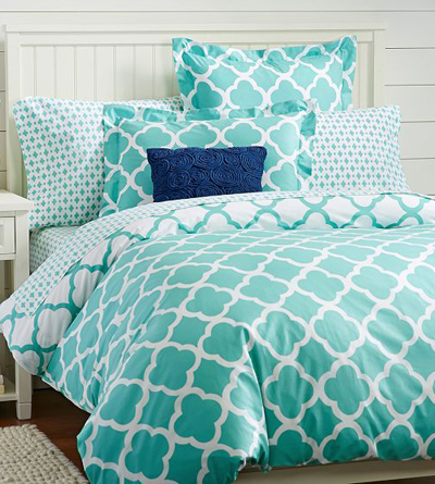 Lucky Clover Reversible Duvet Cover