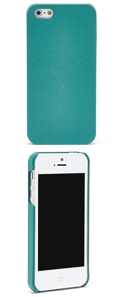 Turquoise Texture iPhone 5 Case