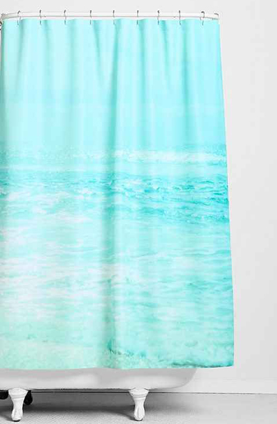 Where Ocean Meets Sky Shower Curtain
