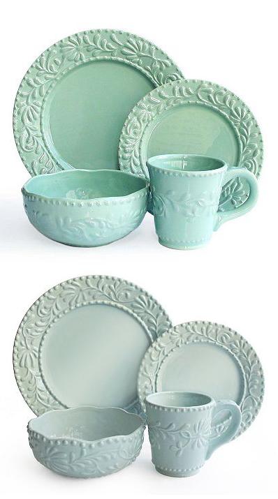 Bianca Leaf 16-pc. Dinnerware Set