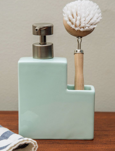 Clean Plate Club Soap Dispenser Set