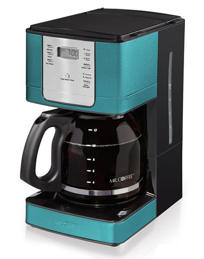 Mr. Coffee Turquoise Coffee Maker