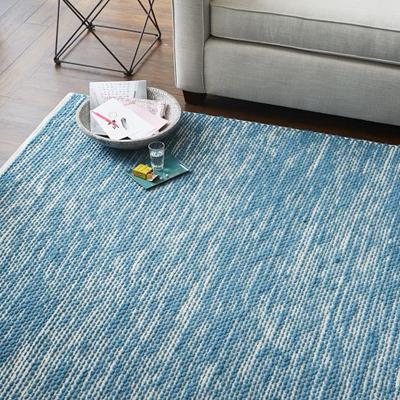 Painter's Cotton + Wool Aquamarine Rug