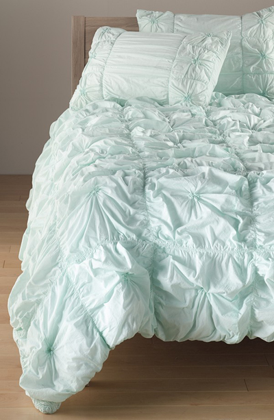 Ruched Knots Comforter