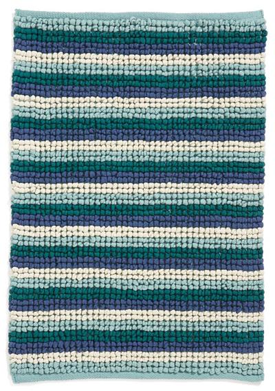 Stripe Jersey Bath Rug