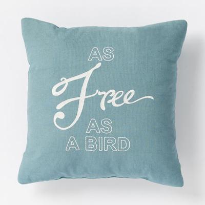 As Free As A Bird Pillow