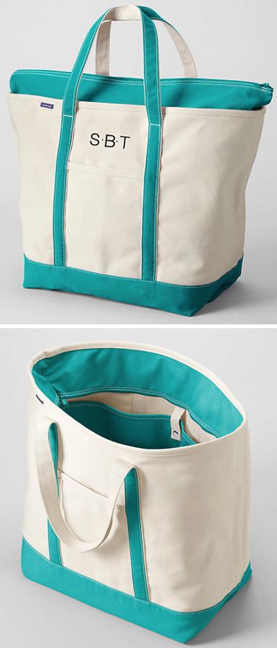 Lands' End Tote Bag
