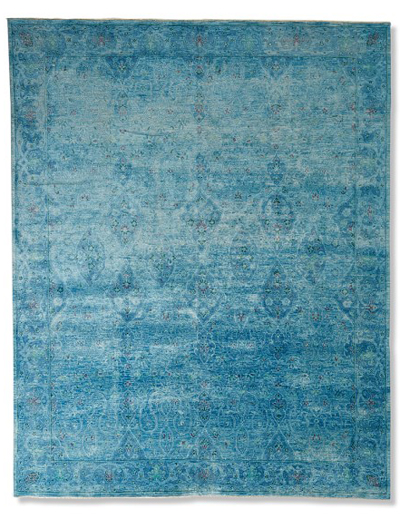 Arabesque Haze Hand-Knotted Rug
