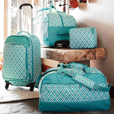 Jet-Set Pool Petal Chain Luggage