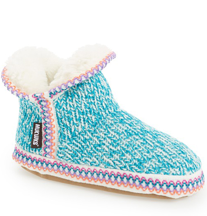 MUK LUKS 'Amira Candy Coated' Bootie Slipper