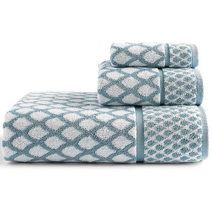 Scalloped Bath Towels