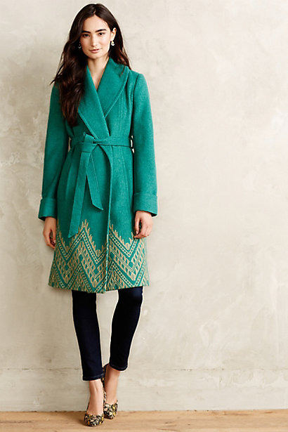 Stitched Jali Coat