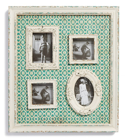 Wood Multi Picture Frame