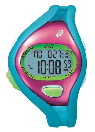 ASICS Women's Fun Runner 50-Lap Digital Chronograph Watch
