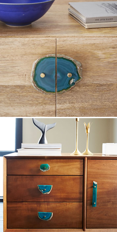 Agate Cabinet Handle Set