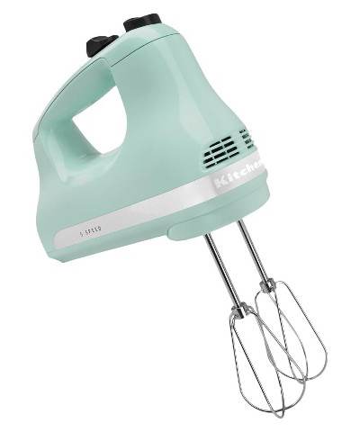 KitchenAid Blue Ice Hand Mixer
