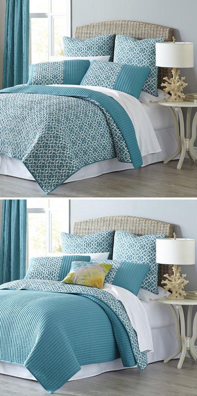 Reece Reversible Bedding & Quilt