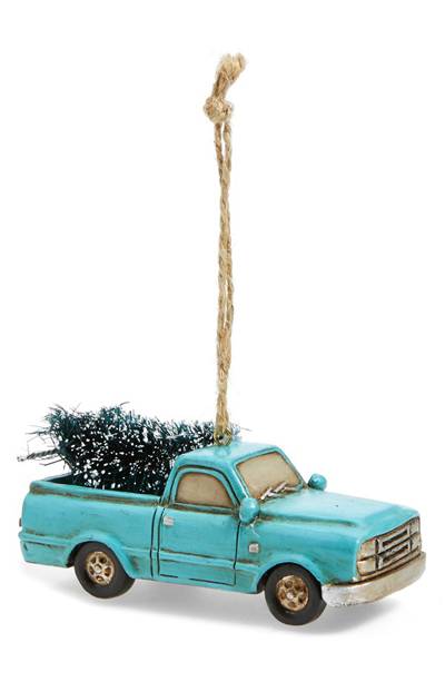 Turquoise Truck Ornament Everything Turquoise