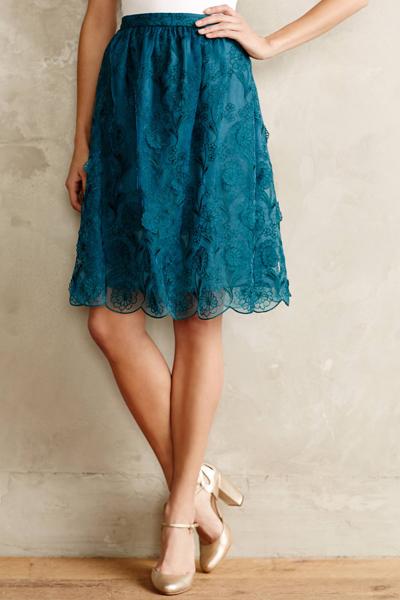 Blossomed Aubrieta Skirt