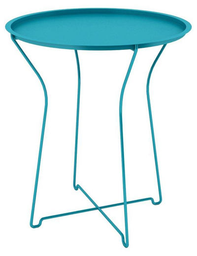 Dar Metal Accent Table