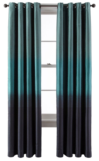 Dylan Ombré Grommet-Top Curtain Panel