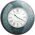 Peacock Mosaic Clock