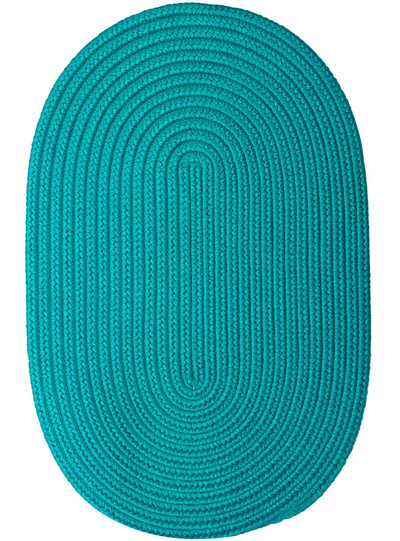 Nantucket Reversible Braided Indoor/Outdoor Oval Rug