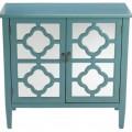 Sayre 2-Door Mirrored Cabinet