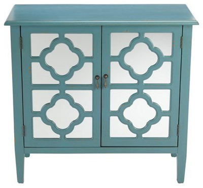 Sayre 2-Door Mirrored Cabinet