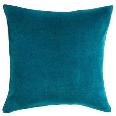 Square Velvet Accent Pillow