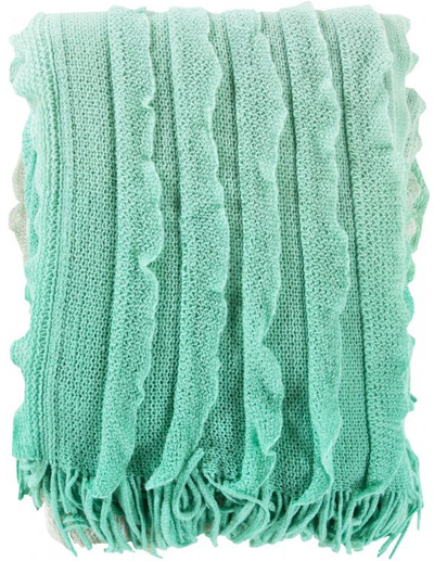 Teal Penelope Throw