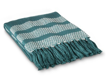 Teal Throw Blanket Everything Turquoise