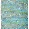 Turquoise Painter's Rug