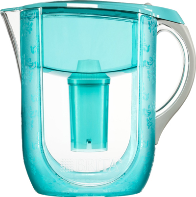 Turquoise Versailles Brita Grand Water Filter Pitcher