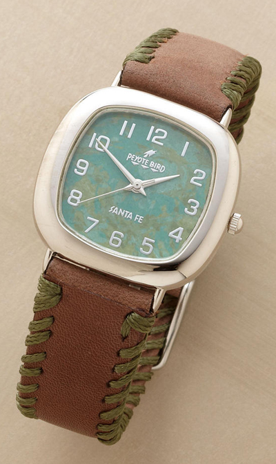 Whipstitched Watch