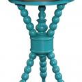 Aqua Blue Leyton Side Table